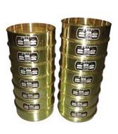 アスファルト試験用標準フルイ 19種 蓋及び受皿付  G-403