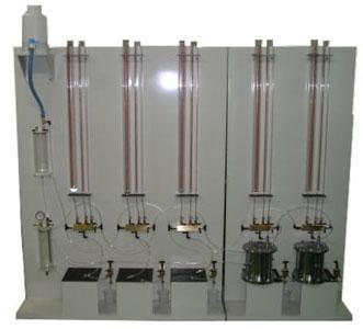 JIS型変水位透水試験装置 三連式  S-166