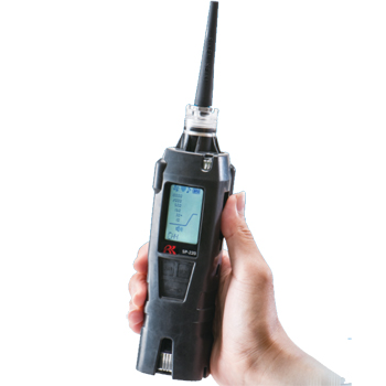 ハンディータイプ ガスリーク検知器(都市ガス・LPガス兼用) Model SP-220 TYPE ML